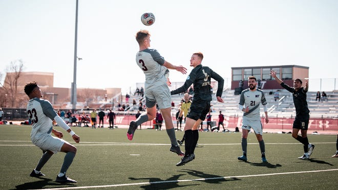 West Texas A&M's Callum Doyle (3) was named the Lone Star Conference Defensive Player of the Week on Wednesday.