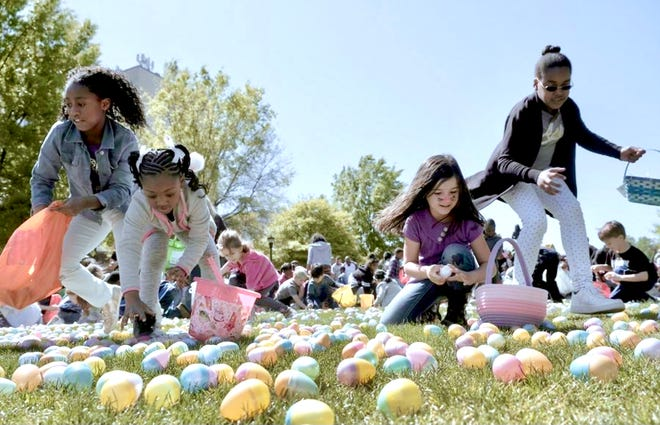 A variety of egg hunts are happening this weekend for children as well as adults.
