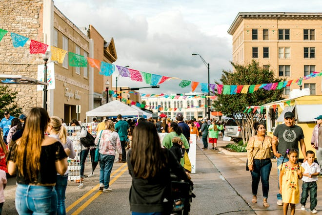 After being canceled last year because of COVID, the Cinco de Mayo celebration — pictured in 2019 — returns to downtown Brownwood on May 7.