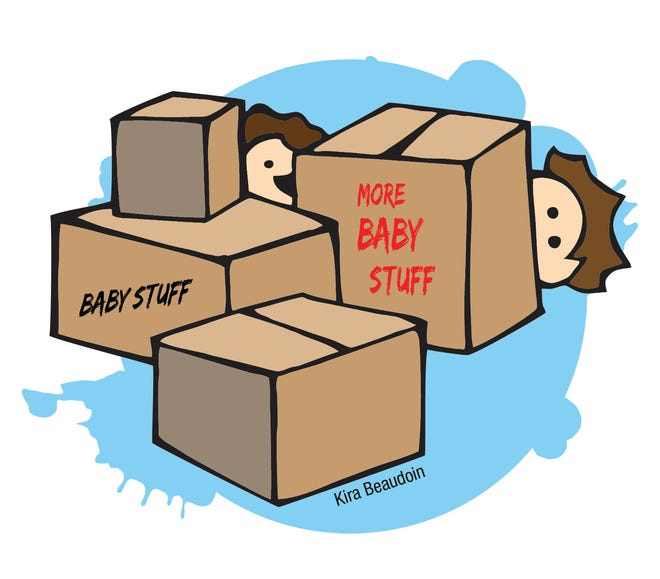 New parents need a lot of stuff for their new babies, but maybe not all THIS stuff.