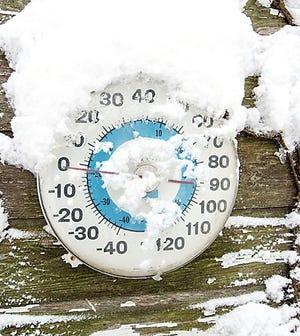 Meteorologists are predicting that April will begin with a cold snap.