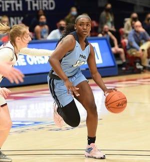 KK Bransford of Cincinnati Mount Notre Dame was named Ohio's Ms. Basketball for 2021.