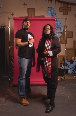 Aramis Malachi-Ture Sundiata and Tammy Fournier-Alsaada, founders of the People's Justice Project