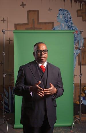 Rev. Jefferey Kee, the pastor of New Faith Baptist Church