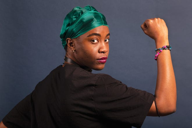 Dkéama Alexis, one of the leaders of the Black Queer Intersectional Collective