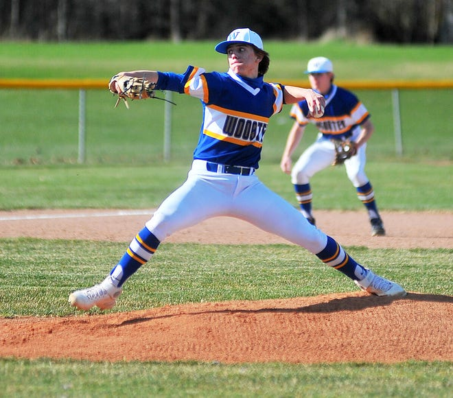 Wooster pitcher Chris Franks has helped lead Wooster to a 7-2 start early in the season.