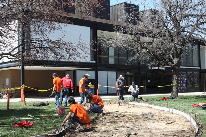 Dodge City Community College began a major sidewalk replacement project on its campus Wednesday, March 31. The project, which was awarded to Brak-Hard Concrete Construction Company LLC, will conclude later this summer.