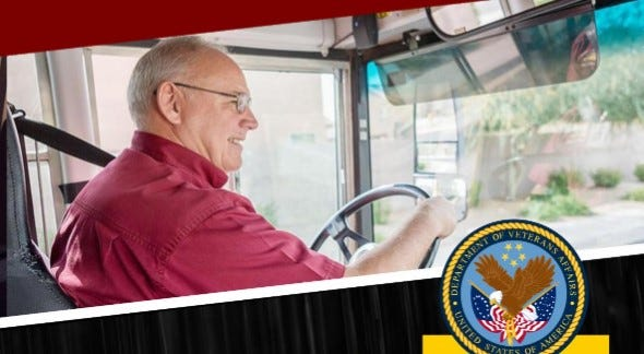 Senior Services is offering transportation to VA Medical Center appointments for veterans residing in Davidson County.