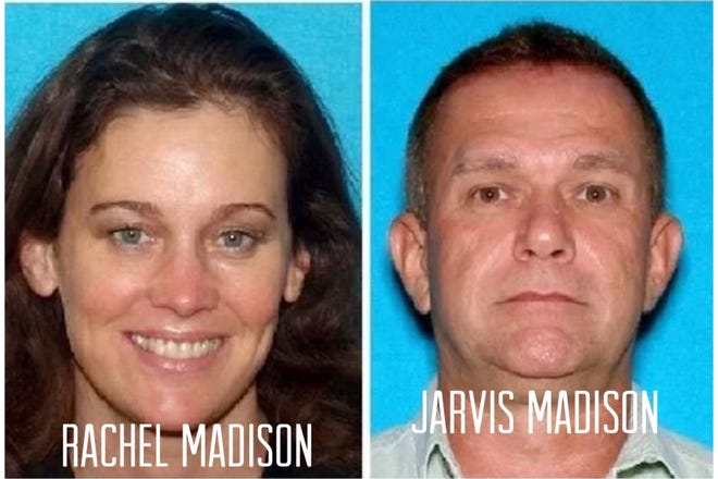 Federal court officials said Jarvis Madison, who drove from Indiana to Ormond-By-The-Sea to kidnap and kill his estranged wife, Rachel Madison, pleaded guilty on Wednesday to interstate stalking that resulted in death. He faces life in federal prison. The kidnapping and killing occurred in November 2016 after Rachel Madison escaped to Florida with her aunt to get away from her abusive husband.