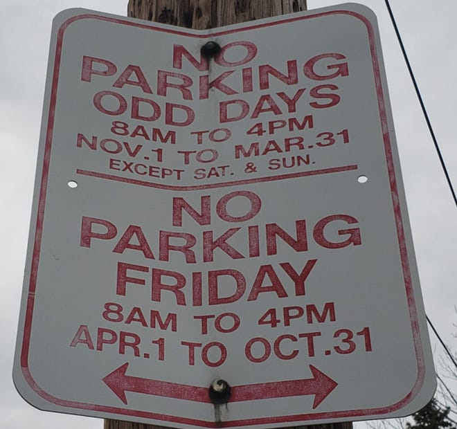 New residential on-street parking rules go into effect in the city of Erie on Thursday.