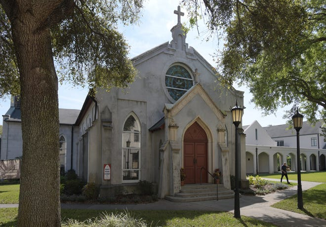 In 1902, Trinity Parish added onto its original building, making the west doors the main entrance for the St. Augustine church that is celebrating its bicentennial this year.