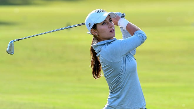Marion Debove, a graduate senior at the University of North Florida, leads the Ospreys in scoring average and has four top-10 finishes this season.