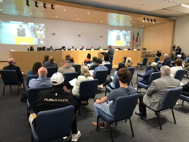 More than 20 citizens spoke at the Charter Review Committee's first public hearing on Tuesday, March 30.