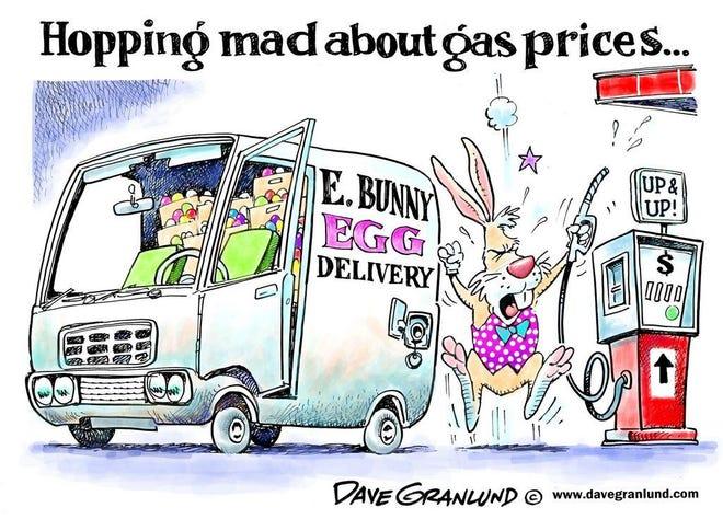 Today's editorial cartoon (April 1, 2021)