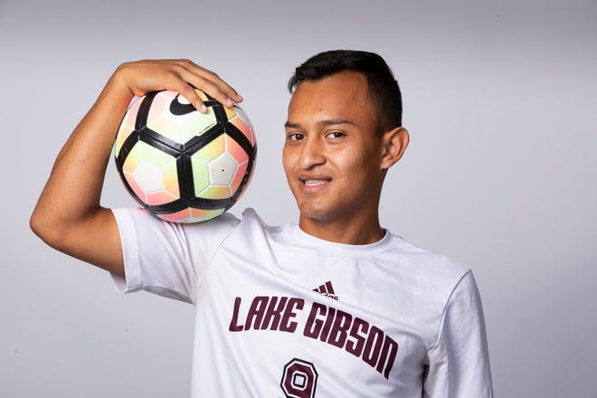 Lake Gibson senior Armando Maldonado finished his career as the Braves' second all-time leading scorer.