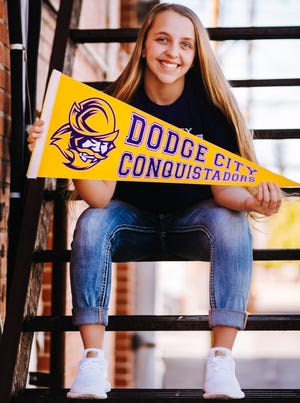 Rocky Ford High School's Teagan Mendoza-Werner signed a national latter of intent to play volleyball at Dodge City (Kan.) Community College back in January.