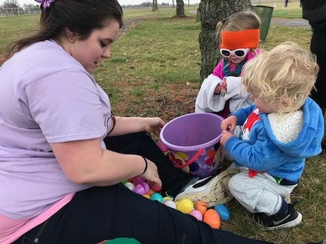 Egg hunt from previous years