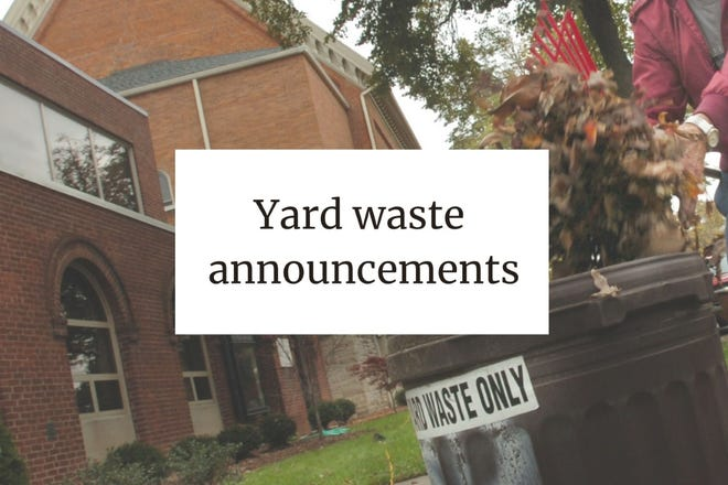 Yard waste collections