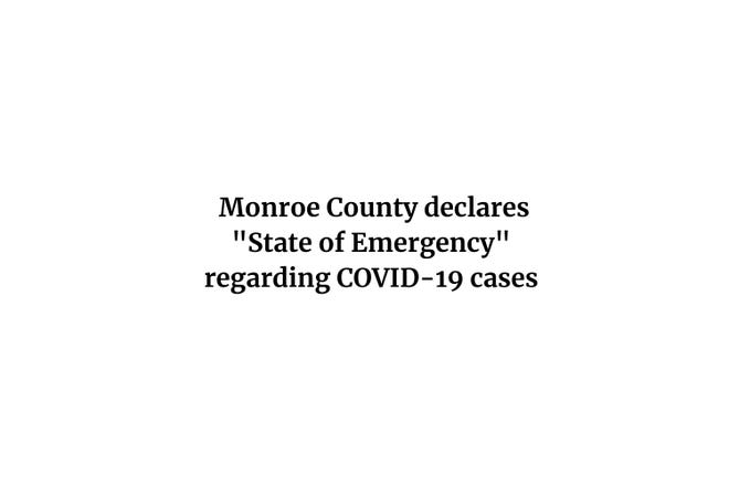 State of Emergency declared in Monroe County, Michigan