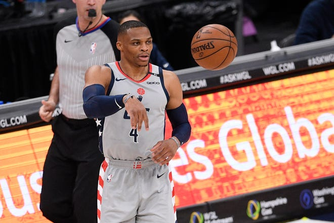 Washington Wizards guard Russell Westbrook said he will not get in a war of words with ESPN commentator Stephen A. Smith. Smith criticized Westbrook's career for not having won an NBA championship.