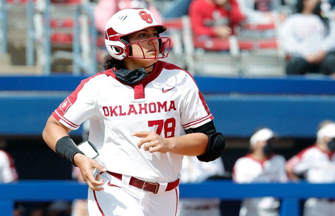 OU slugger Jocelyn Alo cuts an imposing figure in the batter's box, but listen to those inside the program and they'll tell you how cerebral she is.