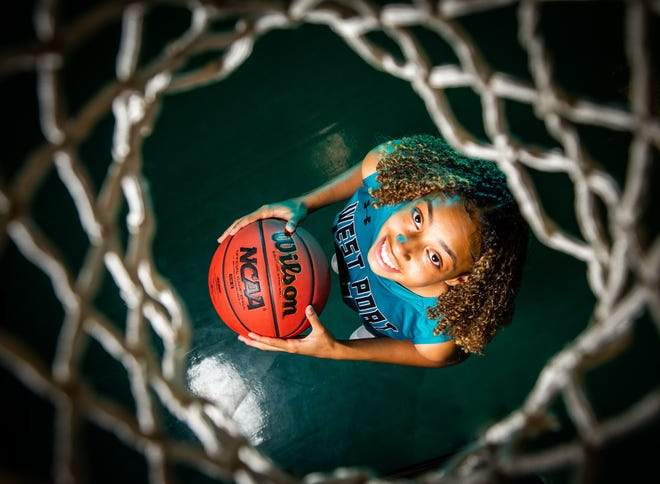 West Port's Mia Lake is this year's Ocala Star-Banner Girls Basketball Player of the Year.