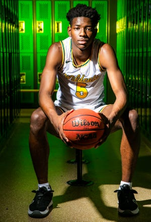 Forest's Brenen Lorient is this year's Ocala Star-Banner Boys Basketball Player of the Year.