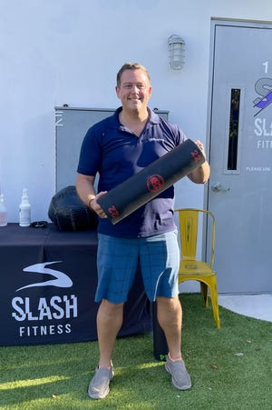 Mark Burns, a 43-year-old marketing executive who lives in Delray Beach, says he's gained 20 pounds of unwanted weight in the past year — but he's determined to do something about it.
