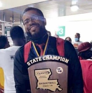 East Iberville coach Mark Temple was named Class 1A Girls Coach of the Year.