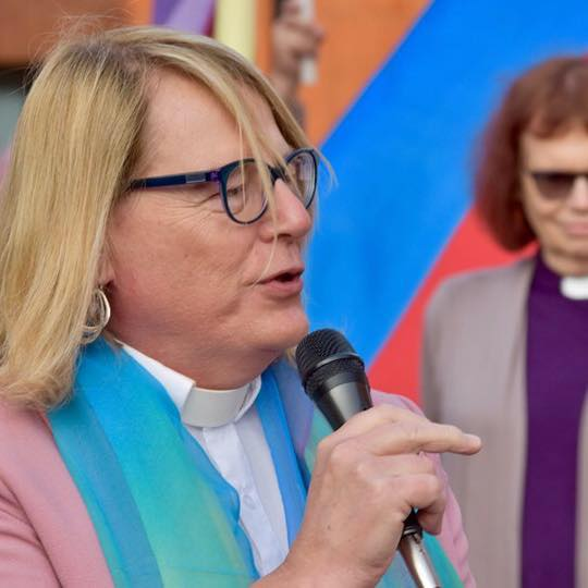 Donnie Anderson came out as trans in 2018 at the age of 69. She has been embraced by the community and states The United Church of Christ is one of the most affirming of folks in the LGBTQ+ community.