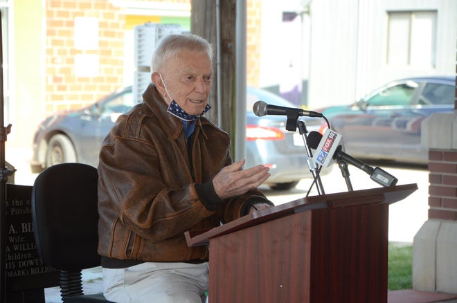 At a press conference Wednesday in Pittsburg, Gene Bicknell pledged to continue his legal battle with the State of Kansas over tens of millions of dollars he says it owes him.