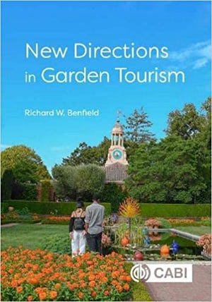 """The Waterford Public Library will host a free, virtual, one-hour program with professor and author Richard Benfield, an expert on world gardens and author of """"New Directions in Garden Tourism."""""""
