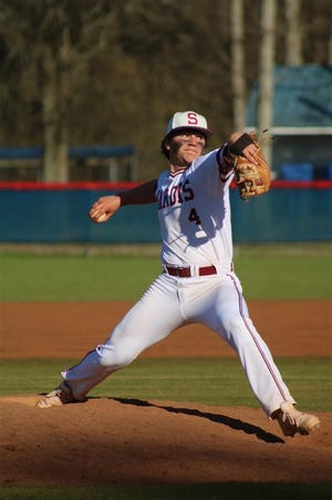 Sardis' Brody Samples has been a standout on the mound, in the field and at the plate this season.