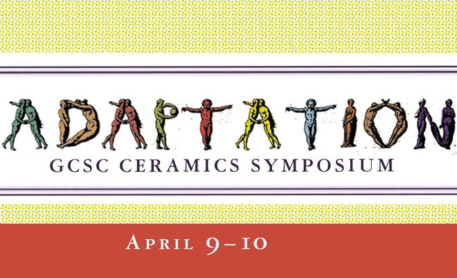 The fourth annual GCSC Ceramics Symposium will take place April 9-10, with in-person segments, Zoom and Facebook Live.