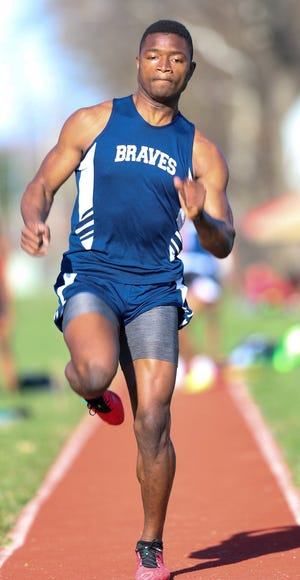 Abdourahman Sallah is one of only four seniors with varsity experience on the Whetstone boys track and field team. He will compete in hurdles and relays and the long jump.