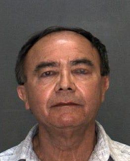Jose Abel Orellana, 60, in a booking photo.