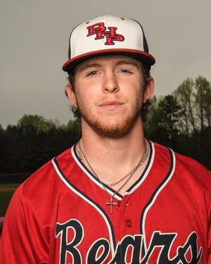 Belton-Honea Path pitcher Landon Gaddis