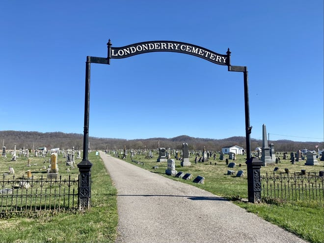 The Londonderry Cemetery is one of the only green spaces in the community, making it a popular place for walkers.