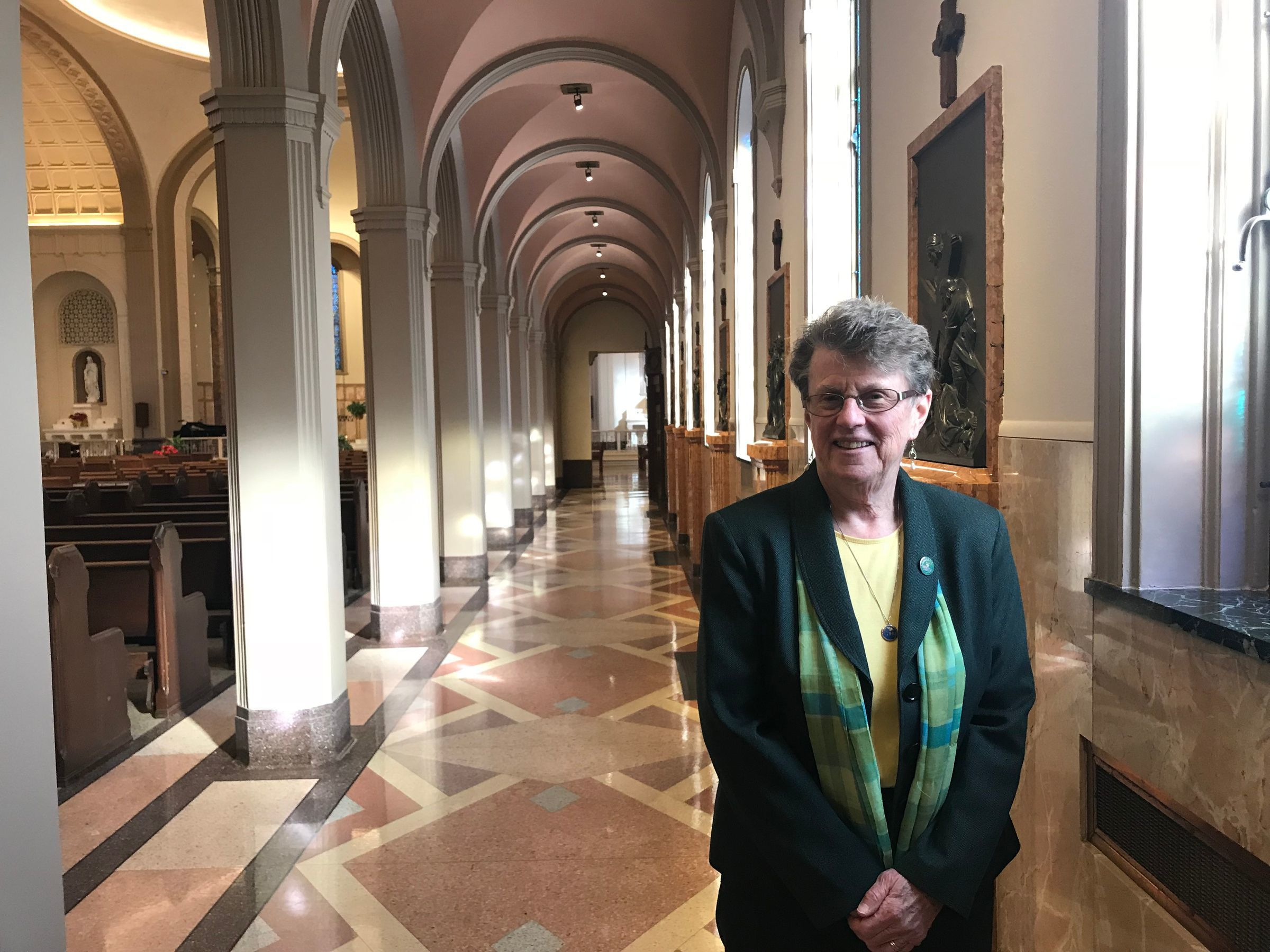 Sister Jane Herb, president of the religious order Immaculate Heart of Mary, which founded the now-closed Marygrove College. Herb is on the Marygrove Conservancy Board.