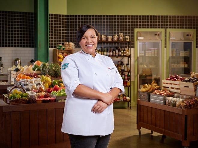 Detroit chef Kiki Louya is competing on Season 18 of Bravo's Top Chef.