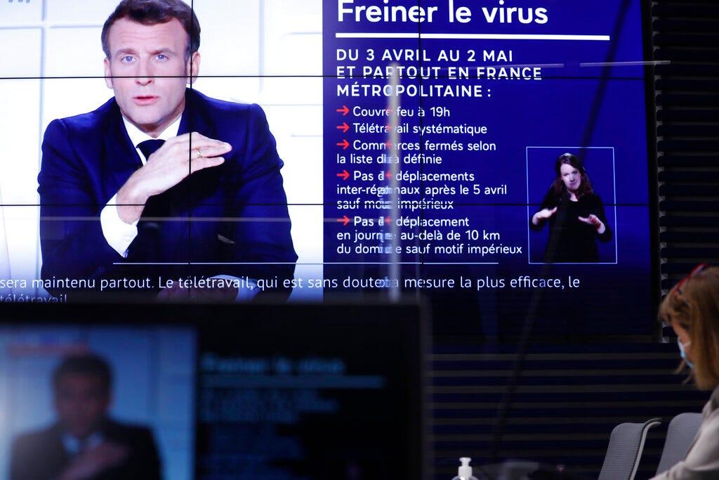 France announces 3-week school closure, domestic travel ban 2