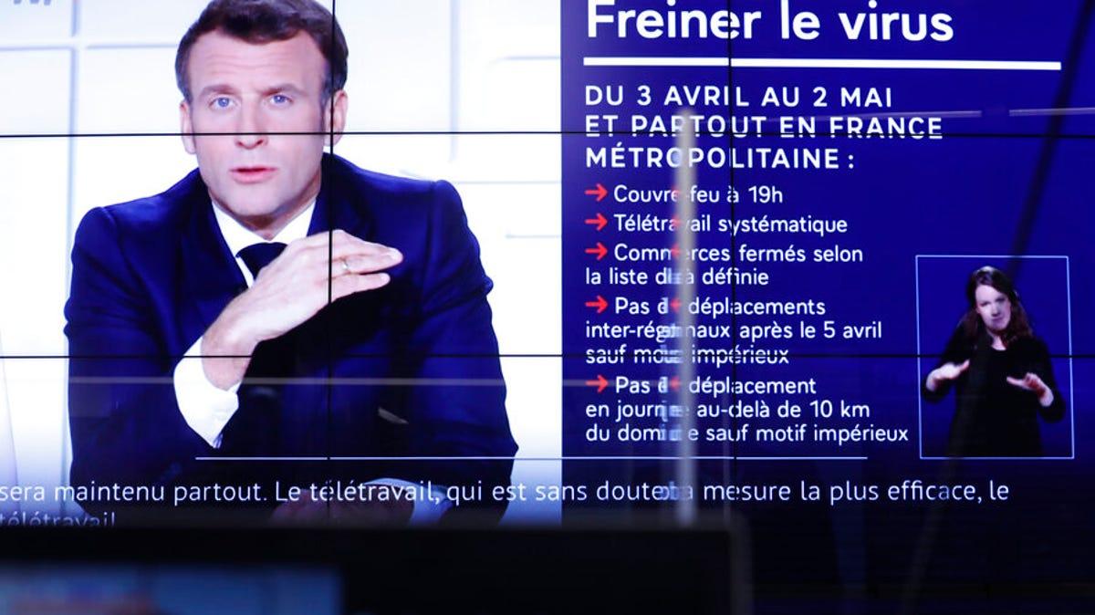 France announces 3-week school closure, domestic travel ban 3