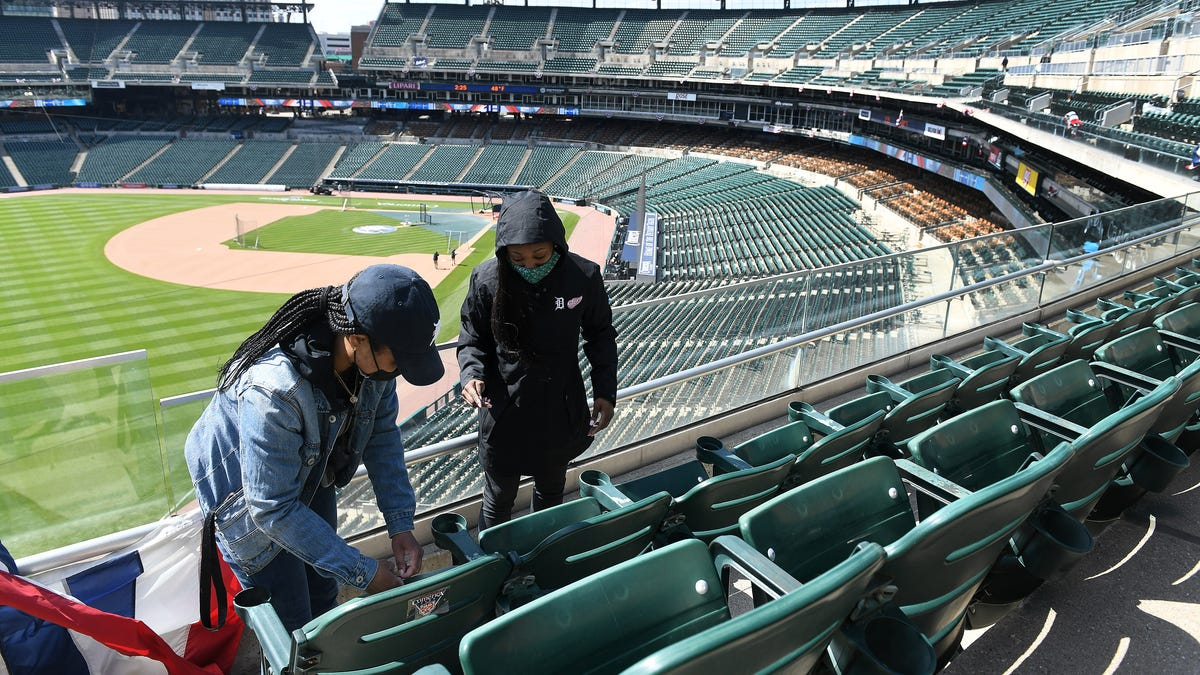 Comerica Park braces for a very special Opening Day — with fans 2