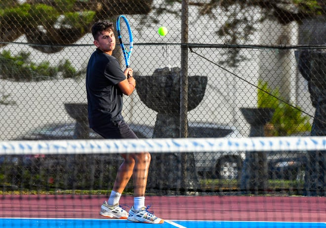 St. John's Knights' Aarman Sachdev was selected boys MVP of the IIAAG Tennis League.