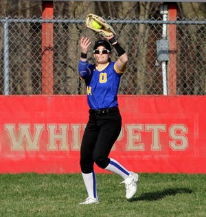 Ontario's Claire Henige hopes to lead the Warriors to the MOAC title in 2021.