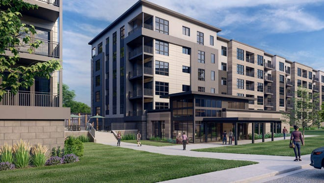 Six buildings with around 500 apartments are being proposed for a 10-acre site near Wauwatosa's village area.