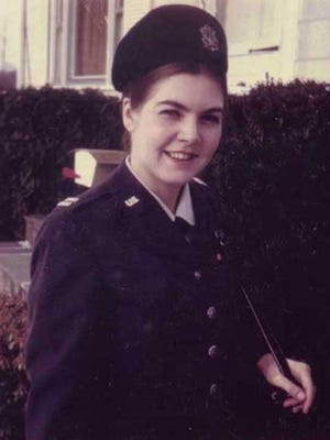 Former Air Force Lieutenant Sharron Frontiero served at Maxwell Air Force Base, Alabama, in the 1970s.
