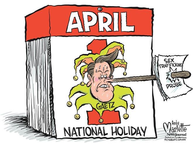 Marlette cartoon: Northwest Florida's annual national holiday
