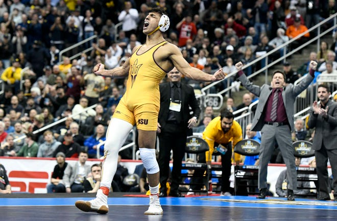Two-time NCAA wrestling champion Zahid Valencia is among 11 from the Sunkist Kids Regional Training Center competing at the U.S. Olympic Wrestling Trials on Friday and Saturday in Fort Worth, Texas.
