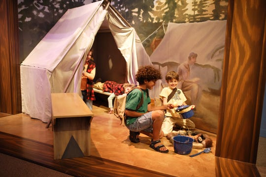 Children play at the Upcountry History Museum in Greenville.